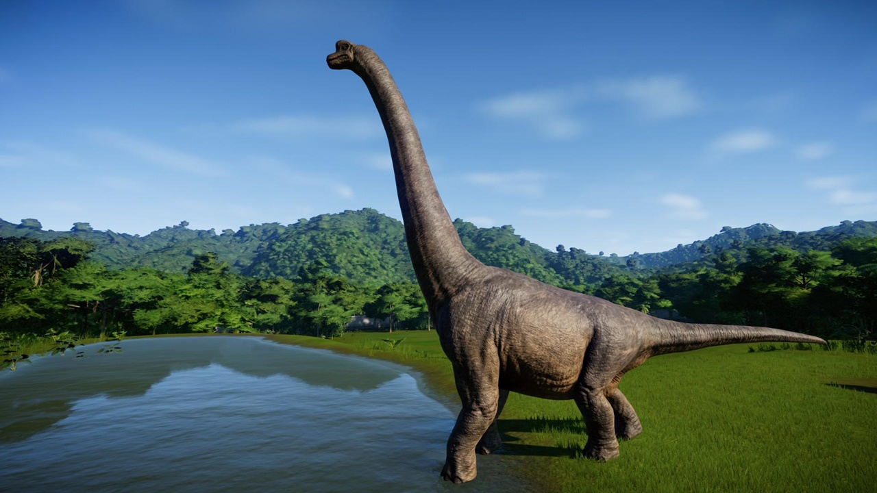 jurassic world evolution Brachiosaurus