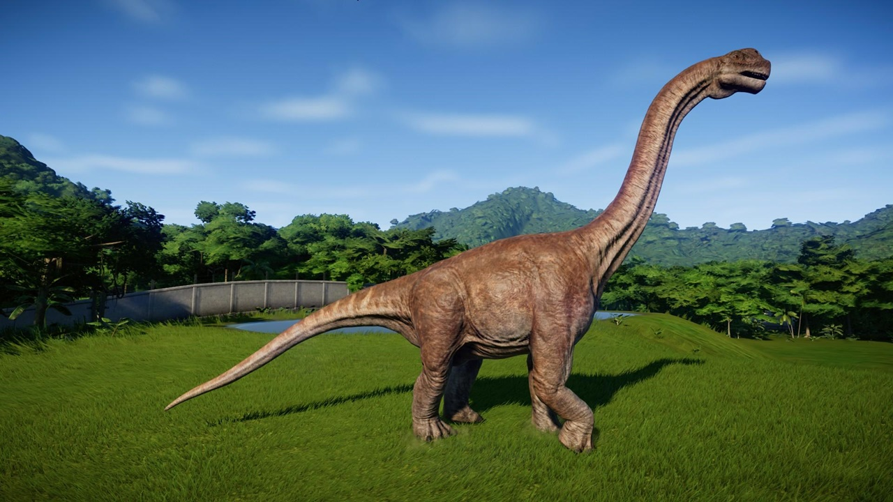 jurassic world evolution Camarasaurus