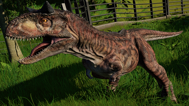 jurassic world evolution Carnotaurus