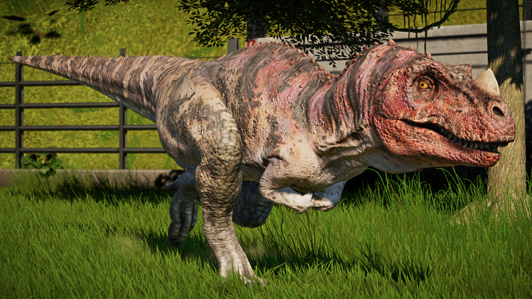 jurassic world evolution Ceratosaurus