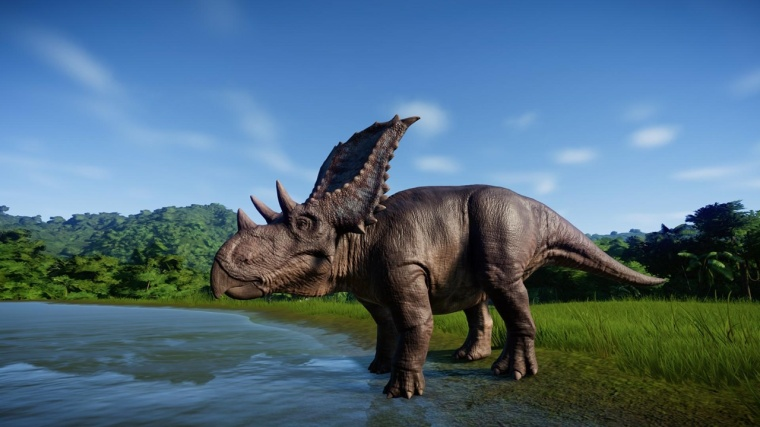 jurassic world evolution Chasmosaurus