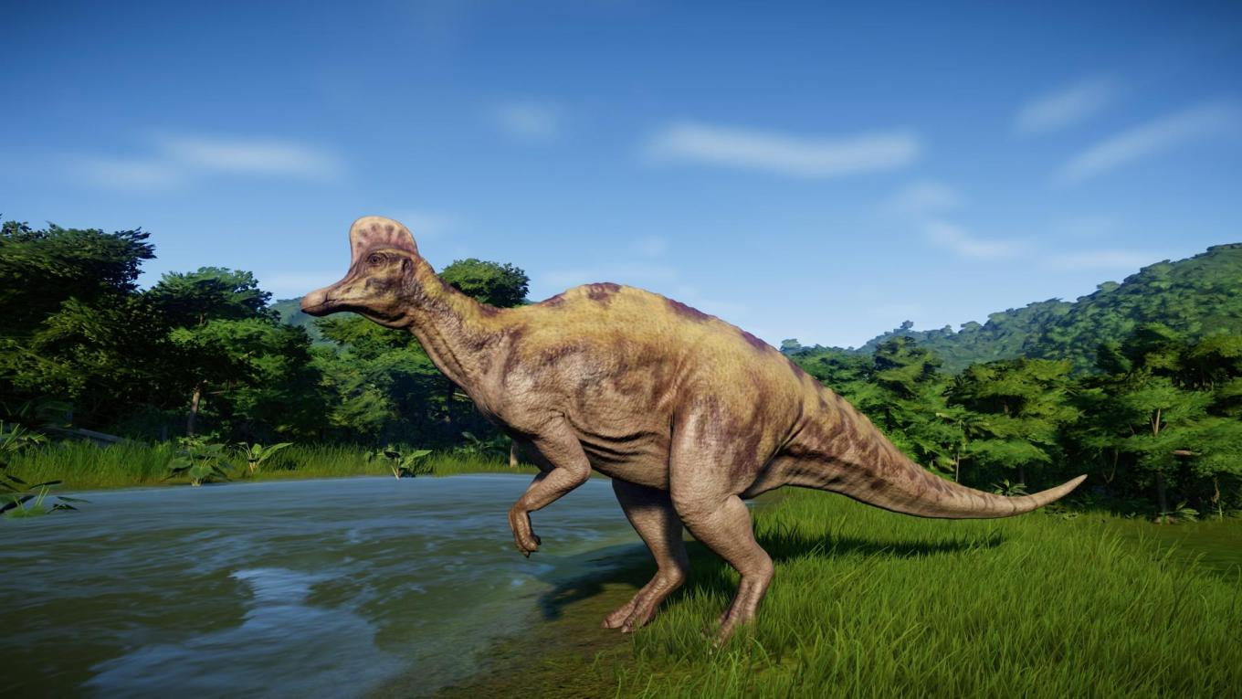 jurassic world evolution Corythosaurus
