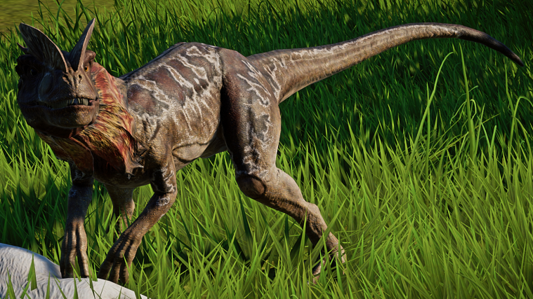 jurassic world evolution Dilophosaurus