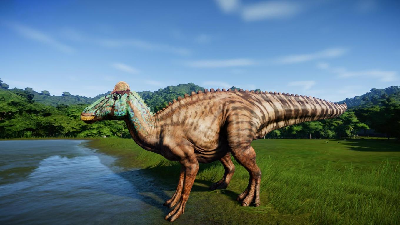 jurassic world evolution Edmontosaurus