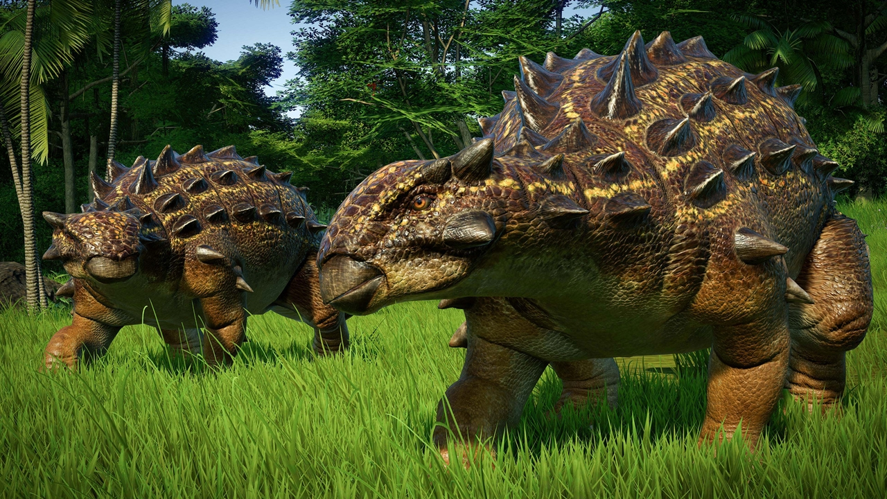Jurassic World Evolution Euoplocephalus