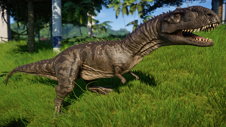 jurassic world evolution Majungasaurus