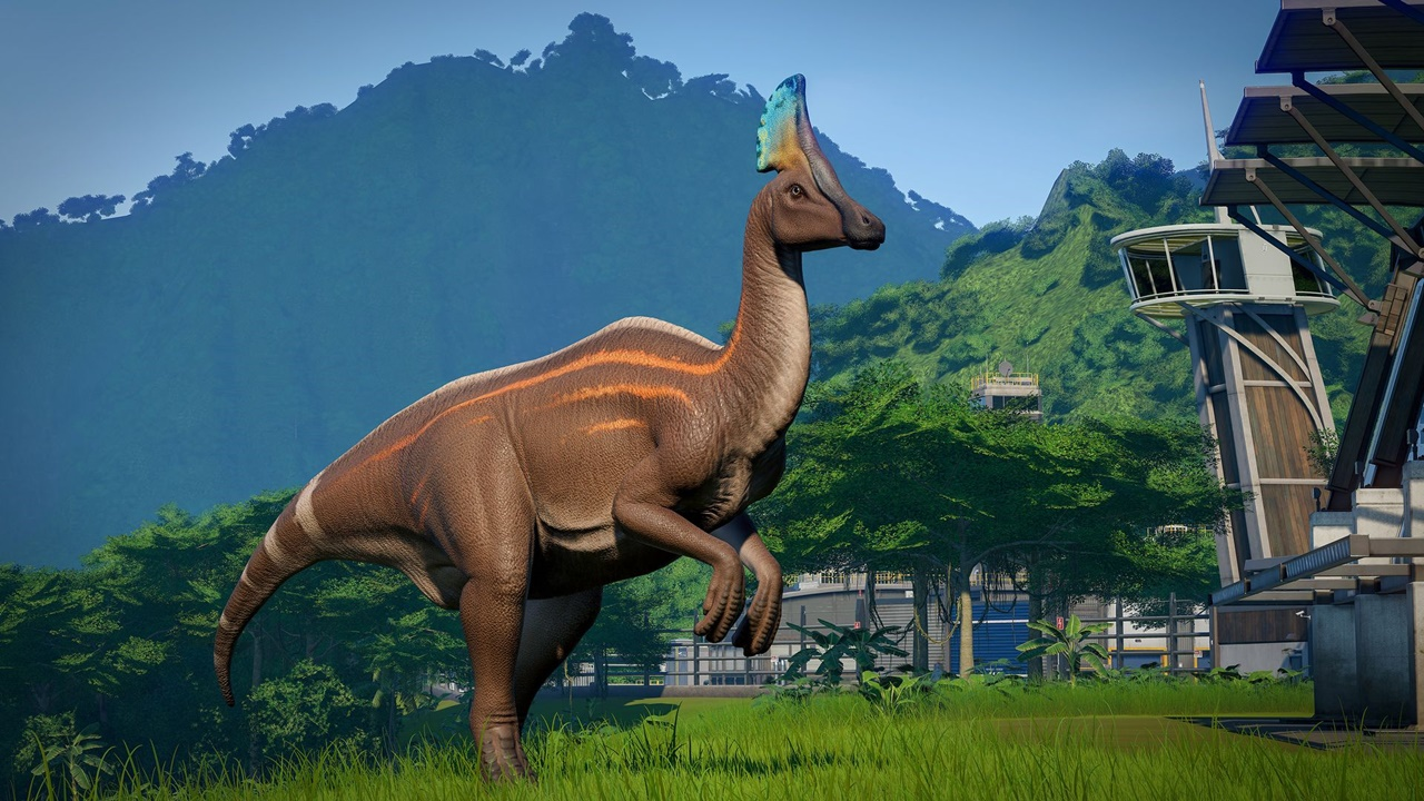 jurassic world evolution Olorotitan