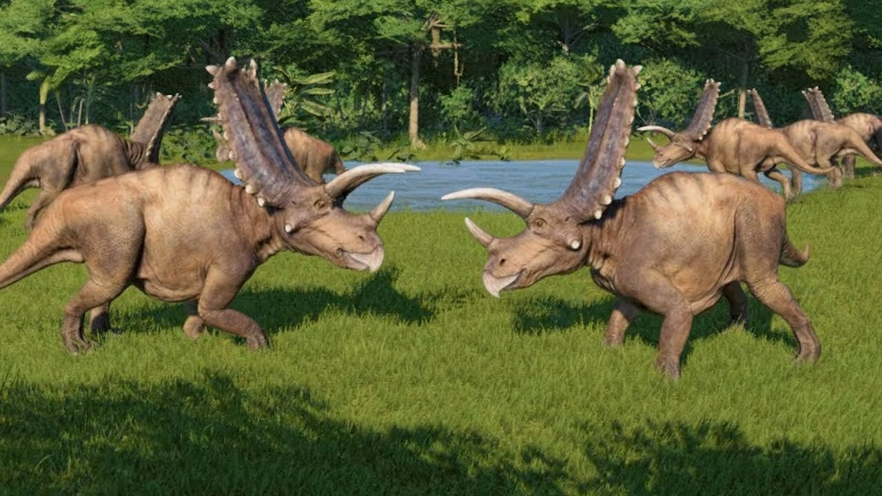 jurassic world evolution Pentaceratops