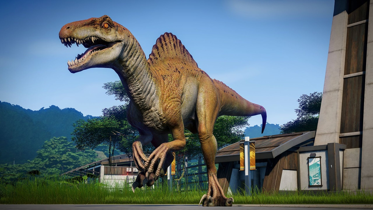 jurassic world evolution Spinoraptor