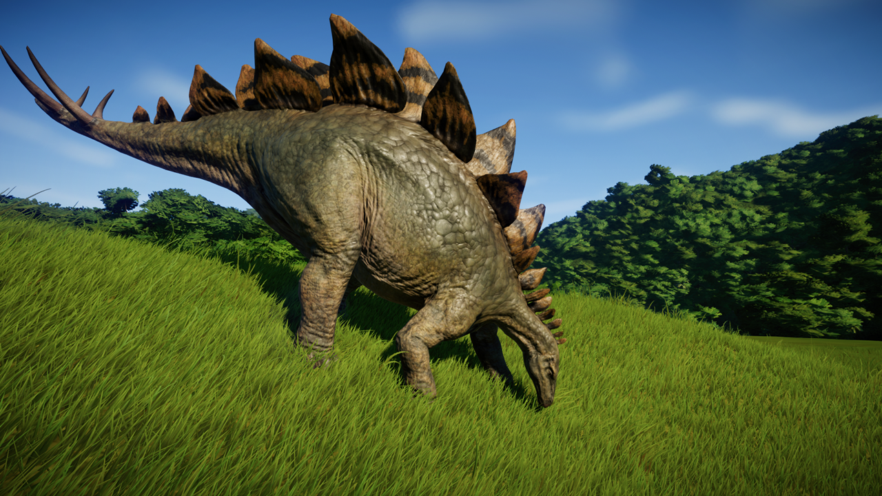 jurassic world evolution Stegosaurus