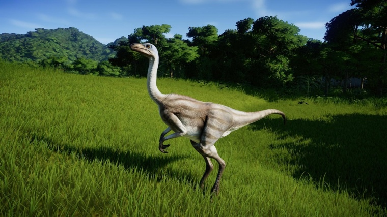 jurassic world evolution Struthiomimus