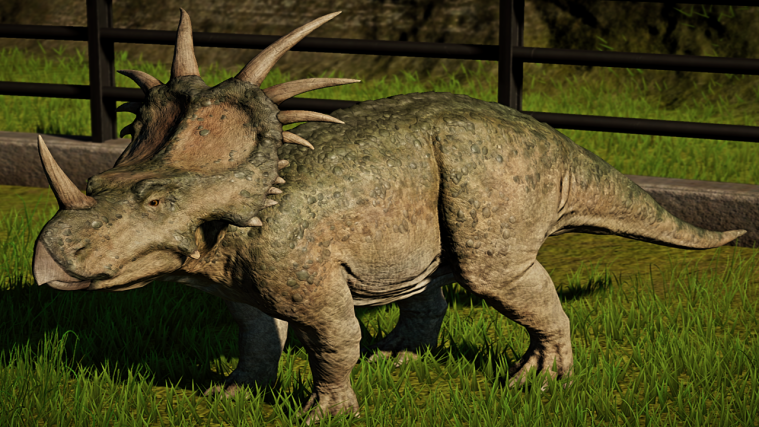 jurassic world evolution Styracosaurus