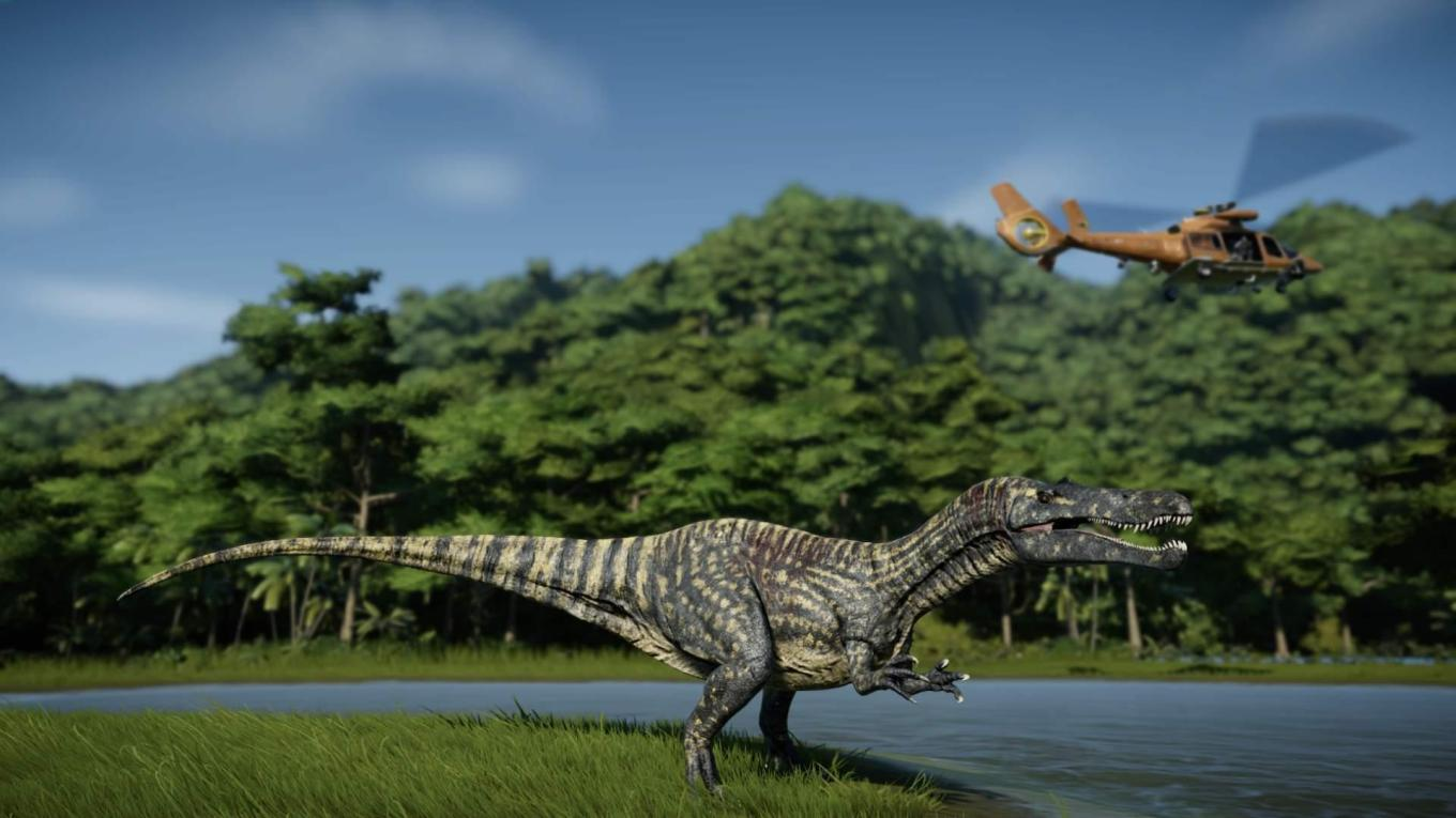 jurassic world evolution Suchomimus