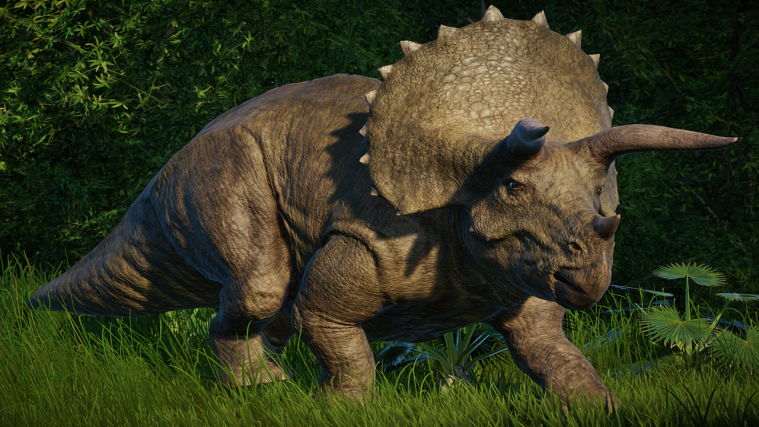 jurassic world evolution Triceratops
