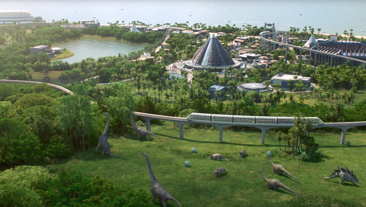 Jurassic World Evolution wallpaper 02
