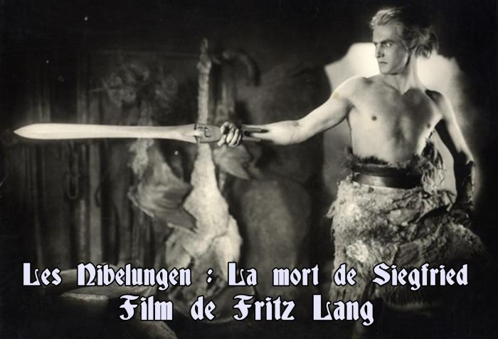 Les-Nibelungen-1 - La Mort de Siegfried - Fritz Lang