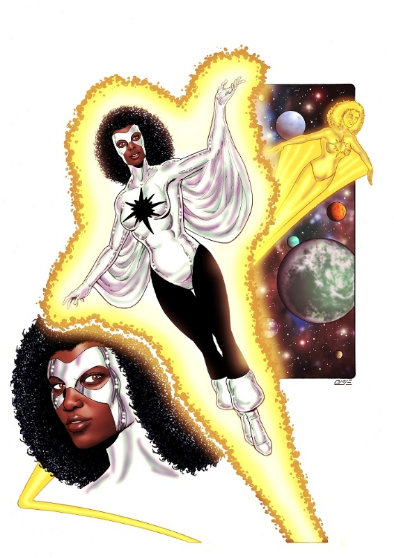 Monica Rambeau - Captain Marvel
