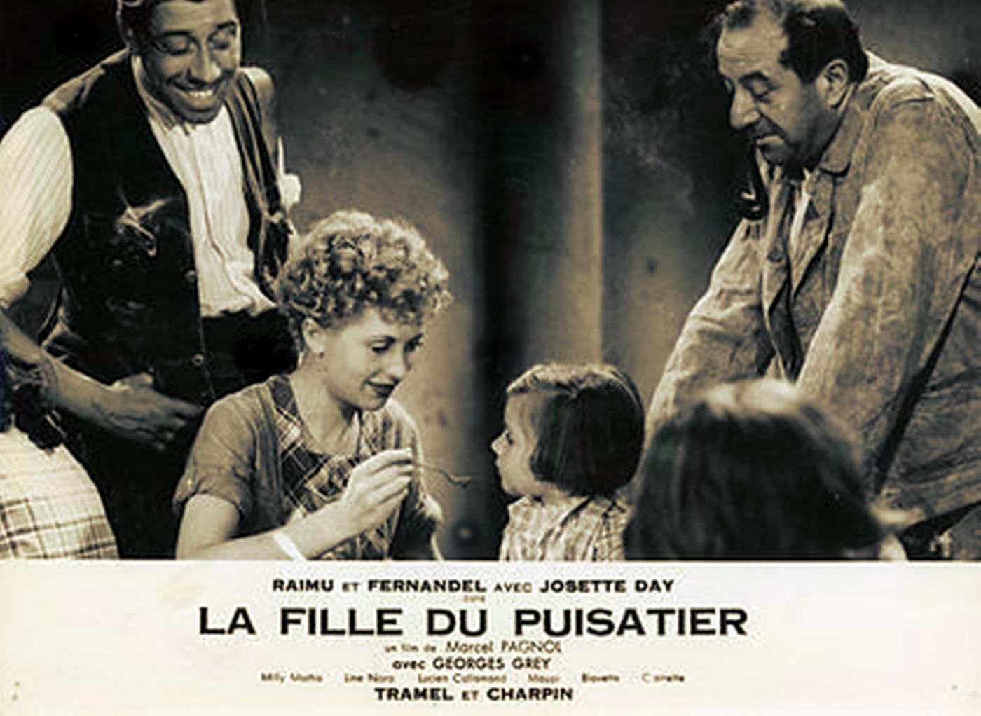 La-Fille-Du-Puisatier - Raimu-Fernandel-Pagnol