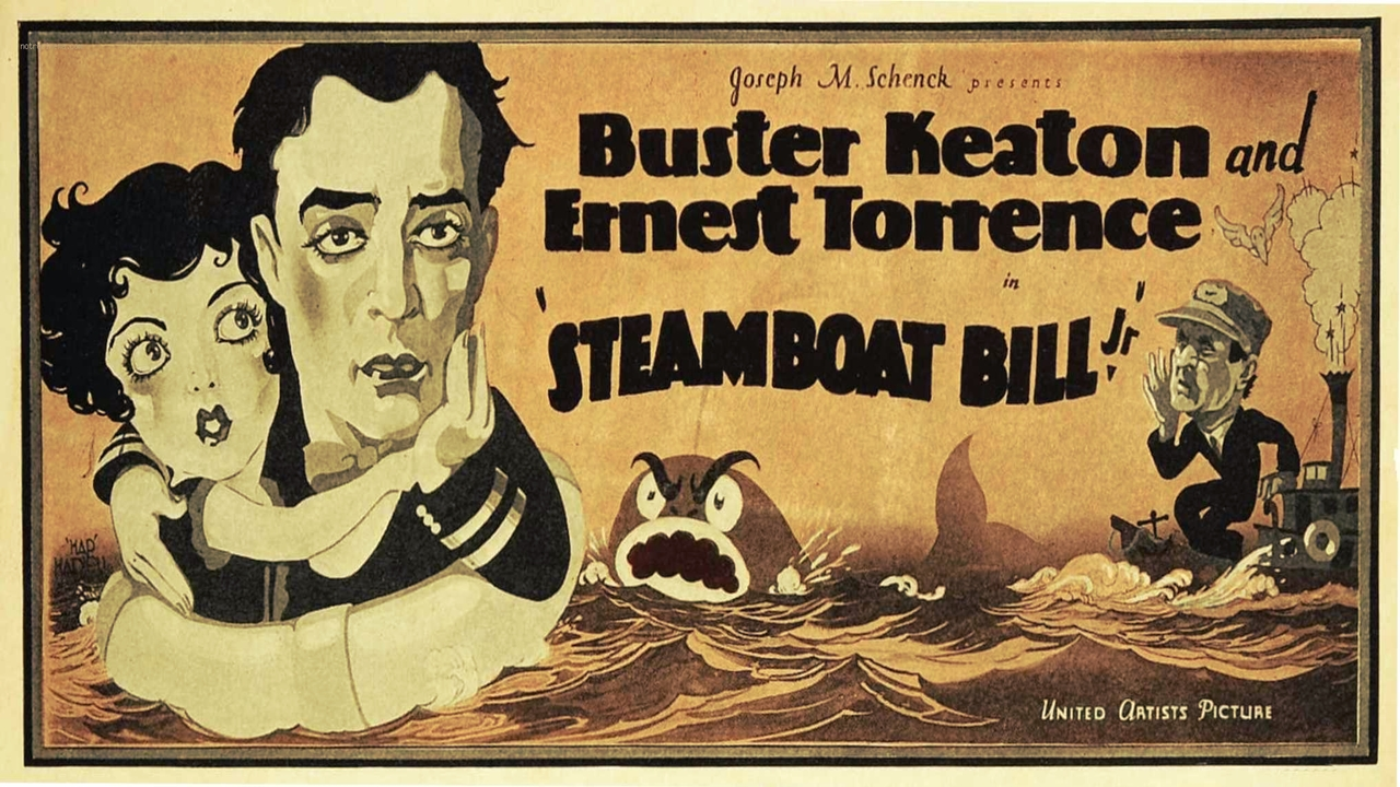 Cadet D'Eau Douce - Steamboat Bill Jr ( 1928 )