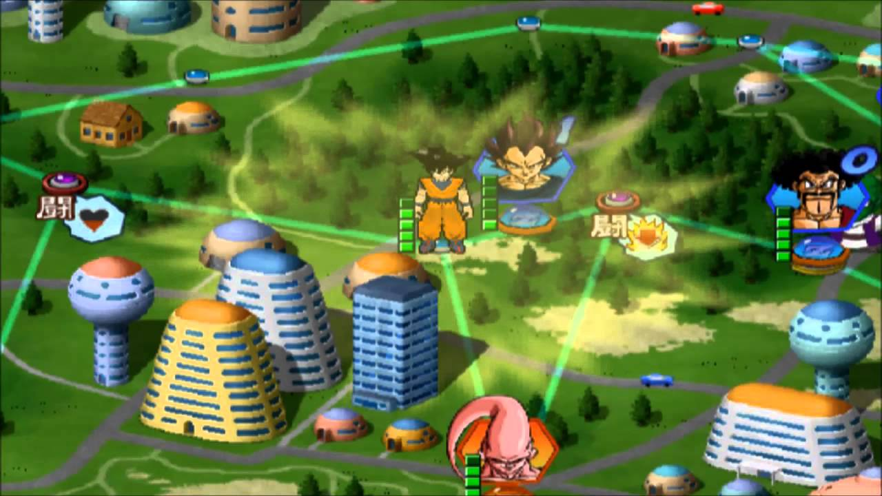 dragon ball z budokai 2 Mode Dragon World