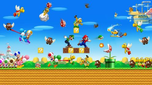New Super Mario Bros. Wii (2)