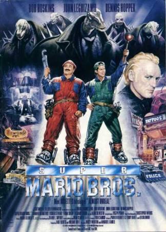 Super Mario Bross Film Affiche