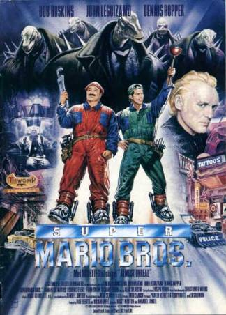 Super Mario Bross Film Affiche