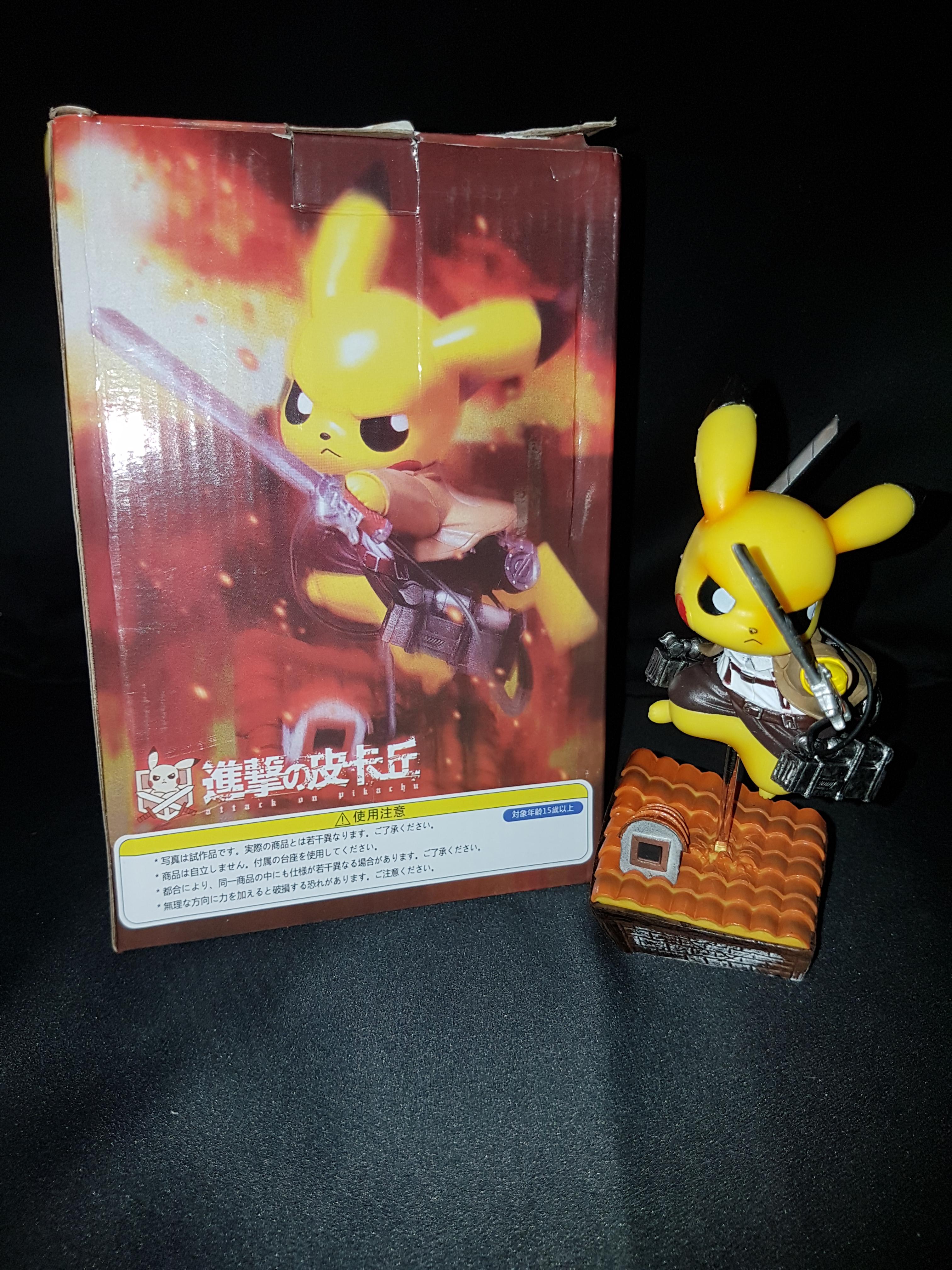 Figurine pikachu attack on titans 7