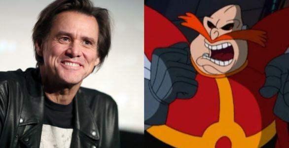 Jim Carrey incarnera le Dr Robotnik dans le film Sonic