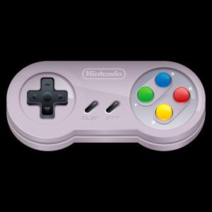 Manette Super Nintendo - Render - PNG