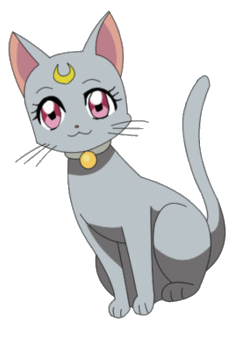 Sailor Moon - Artemis - Chat - Render - PNG