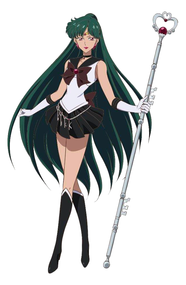 Sailor Moon - Sailor Pluto - Render - PNG