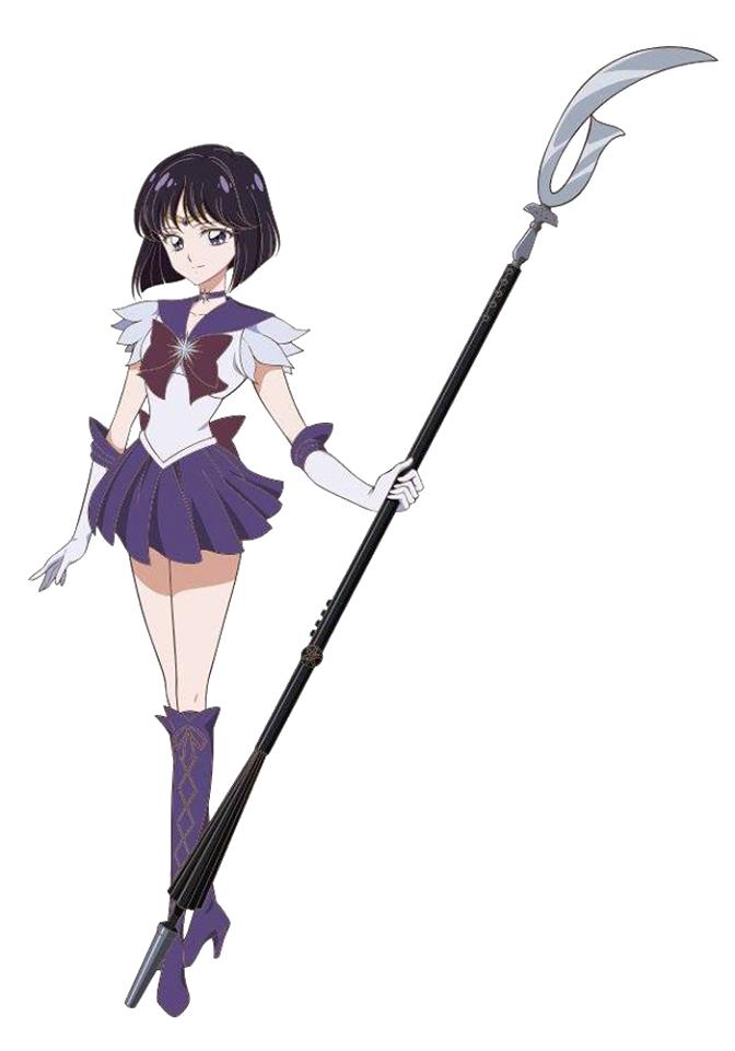 Sailor Moon - Sailor Saturn - Render - PNG