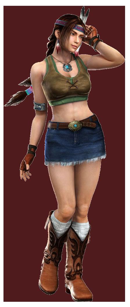 Tekken 4 - Julia - PNG - Render
