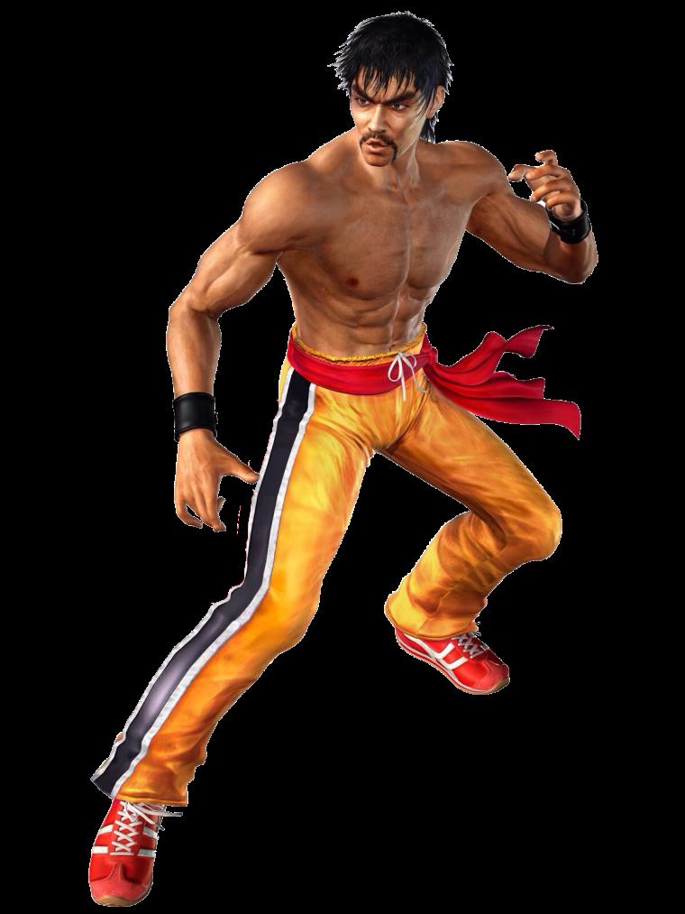 Tekken 4 - Law - PNG - Render