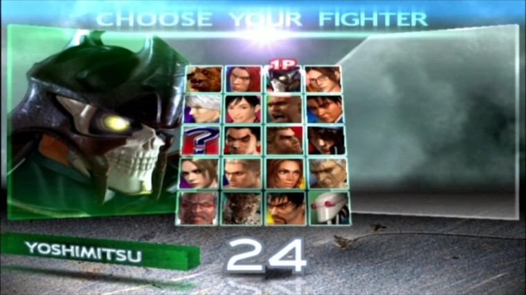 Tekken 4 - Yoshimitsu - Écran De Sélection Des Personnages