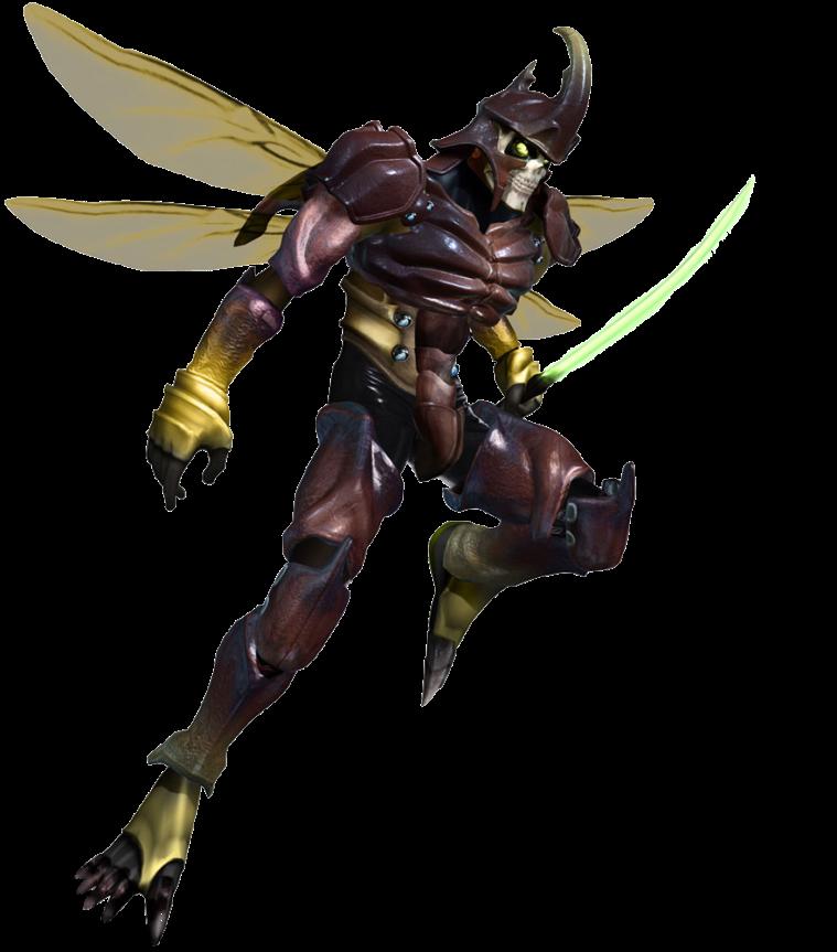 Tekken 4 - Yoshimitsu - PNG - Render