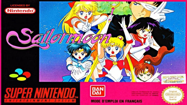 Sailor moon - super nintendo - pochette jeux