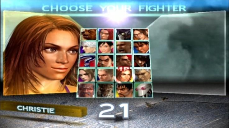 Tekken 4 - Christie - Écran De Sélection Des Personnages