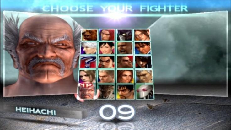 Tekken 4 - Heihachi - Écran De Sélection Des Personnages