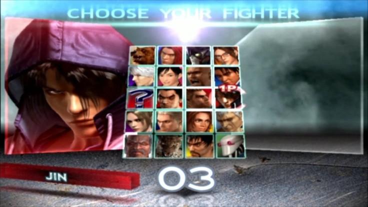 Tekken 4 - Jin - Écran De Sélection Des Personnages