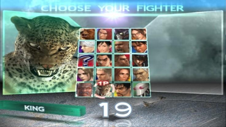 Tekken 4 - King - Écran De Sélection Des Personnages