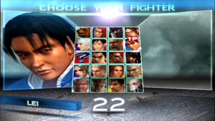 Tekken 4 - Lei - Écran De Sélection Des Personnages