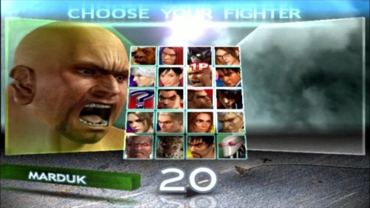Tekken 4 - Marduk - Écran De Sélection Des Personnages