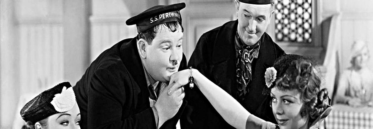 Laurel et Hardy - C'est Donc Ton Frère ( 1936 )