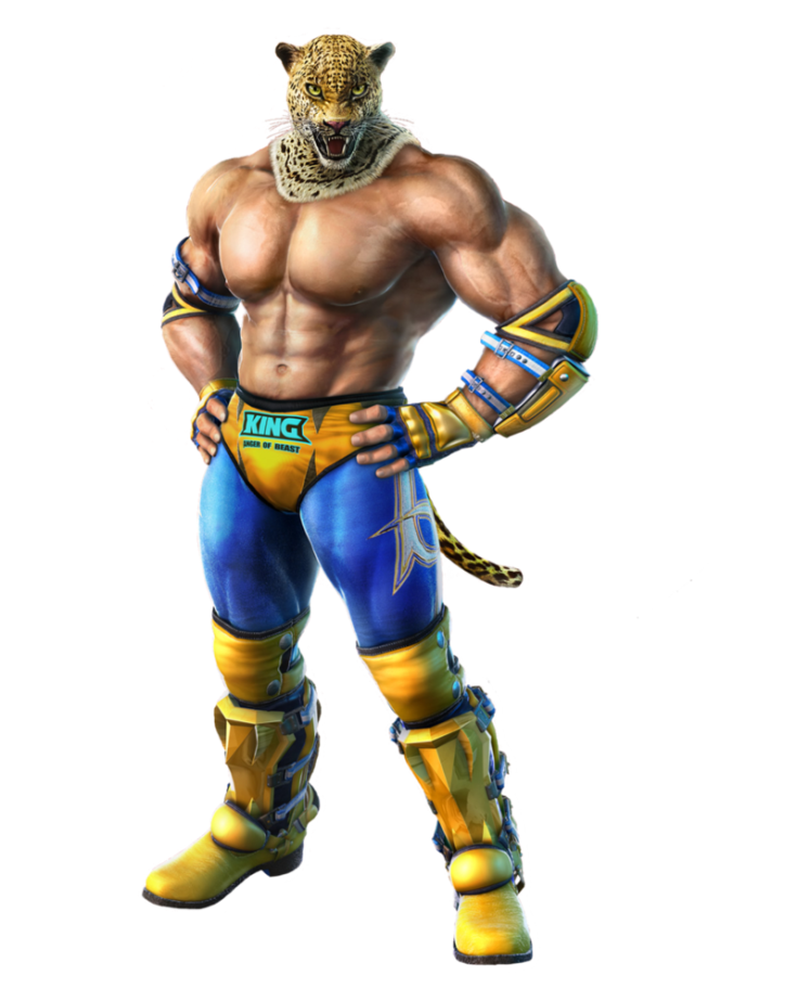 Tekken 4 - King - PNG - Render