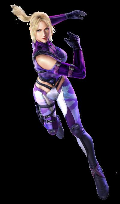 Tekken 4 - Nina - PNG - Render