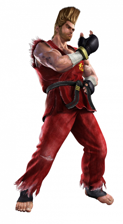 Tekken 4 - Paul - PNG - Render