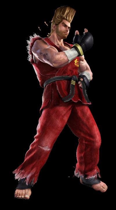 Tekken 4 - Paul - PNG - Render