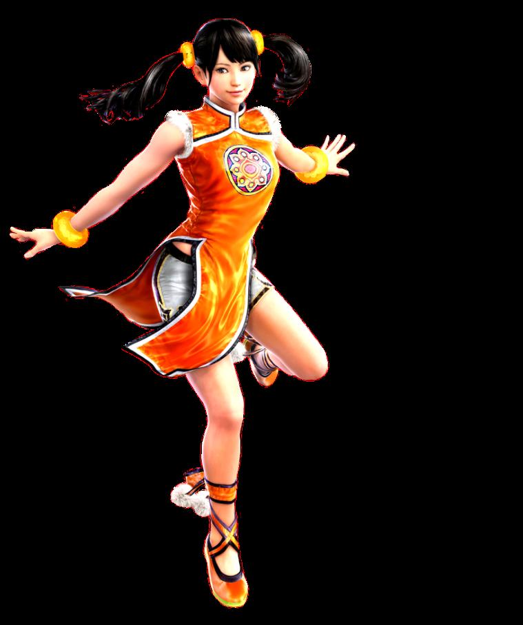 Tekken 4 - Xiaoyu - PNG - Render